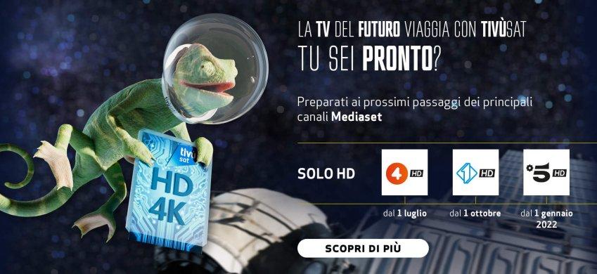 Tivusat nelle città italiane per descrivere il passaggio alla tecnologia DVB-S2