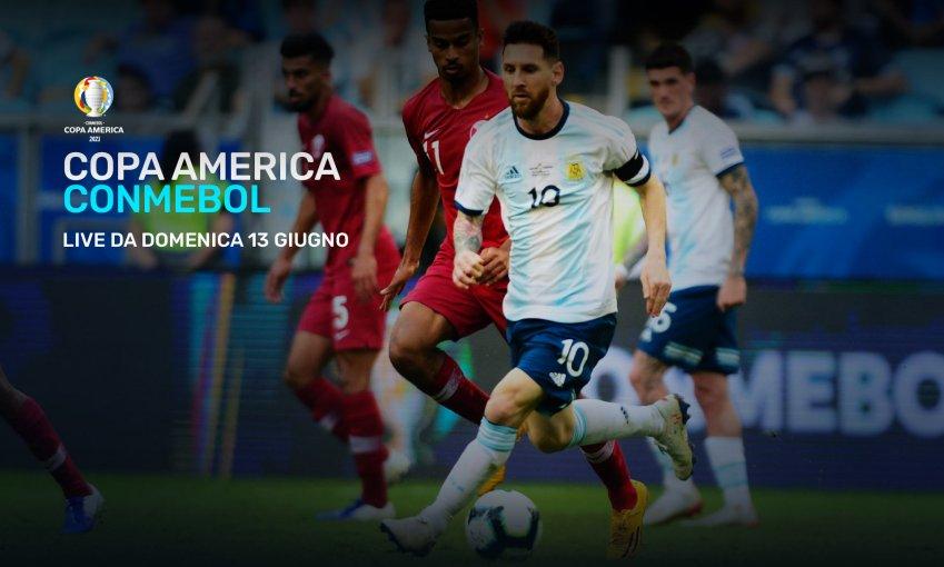 La Copa America 2021 live e on demand dal 13 Giugno su Eleven Sports