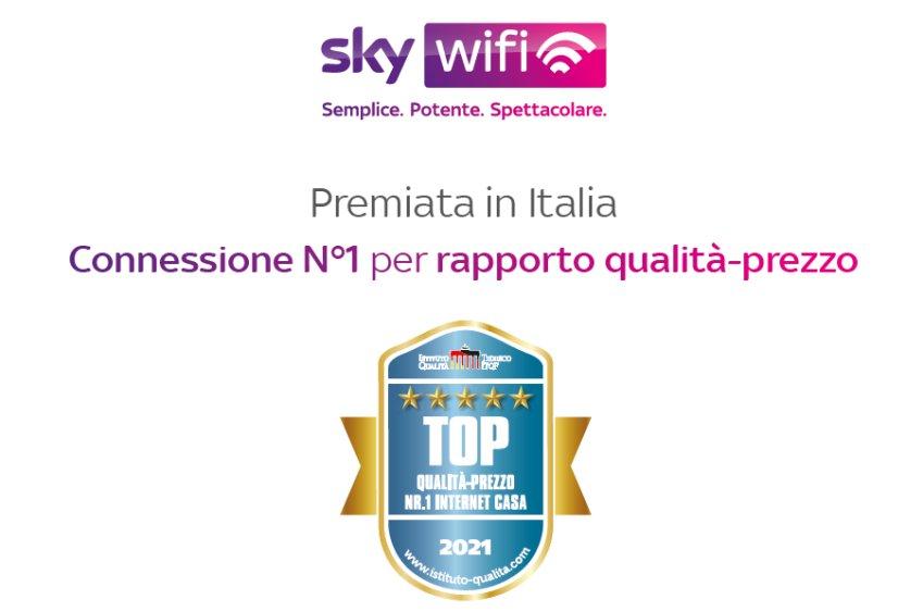 Sky Wifi aumenta ancora la copertura, ora è in più di 2000 comuni italiani