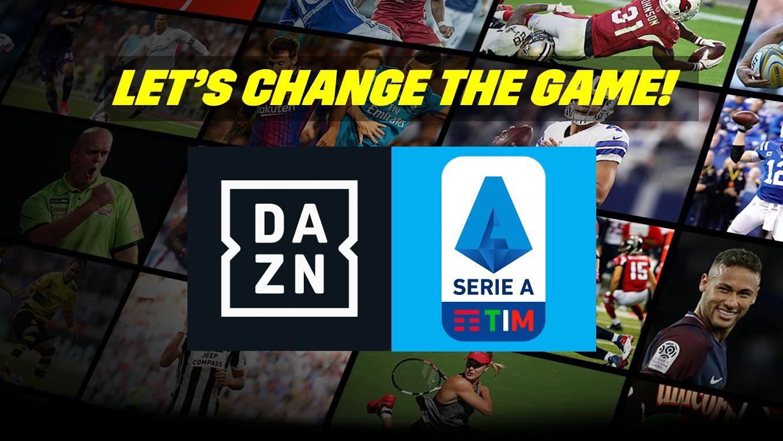 Accordo DAZN - Digitalia 08 per la raccolta pubblicitaria Serie A 2021-24