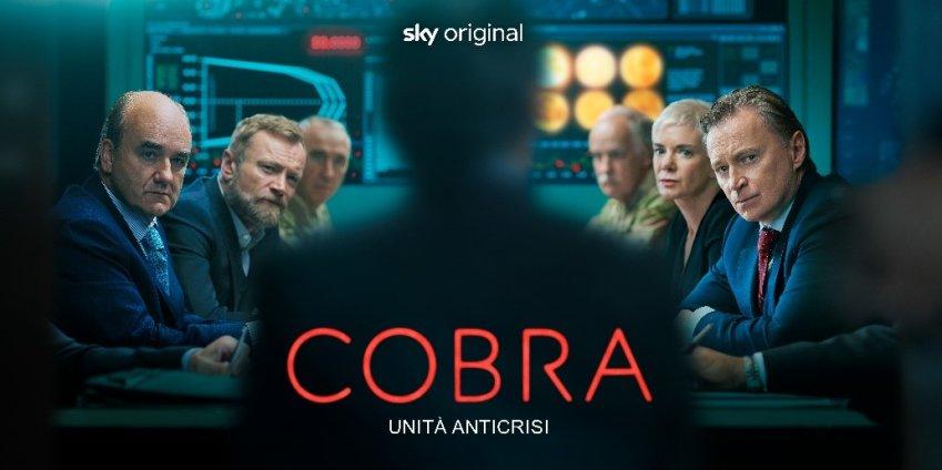 Cobra - Unità anticrisi, su Sky e NOW political drama con Robert Carlyle