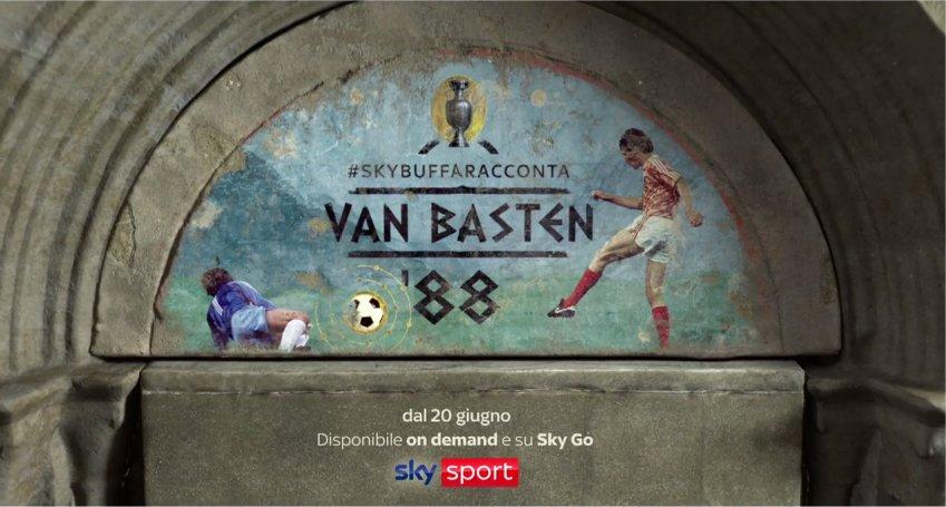 #SkyBuffaRacconta Van Basten '88, un viaggio nella storia olandese