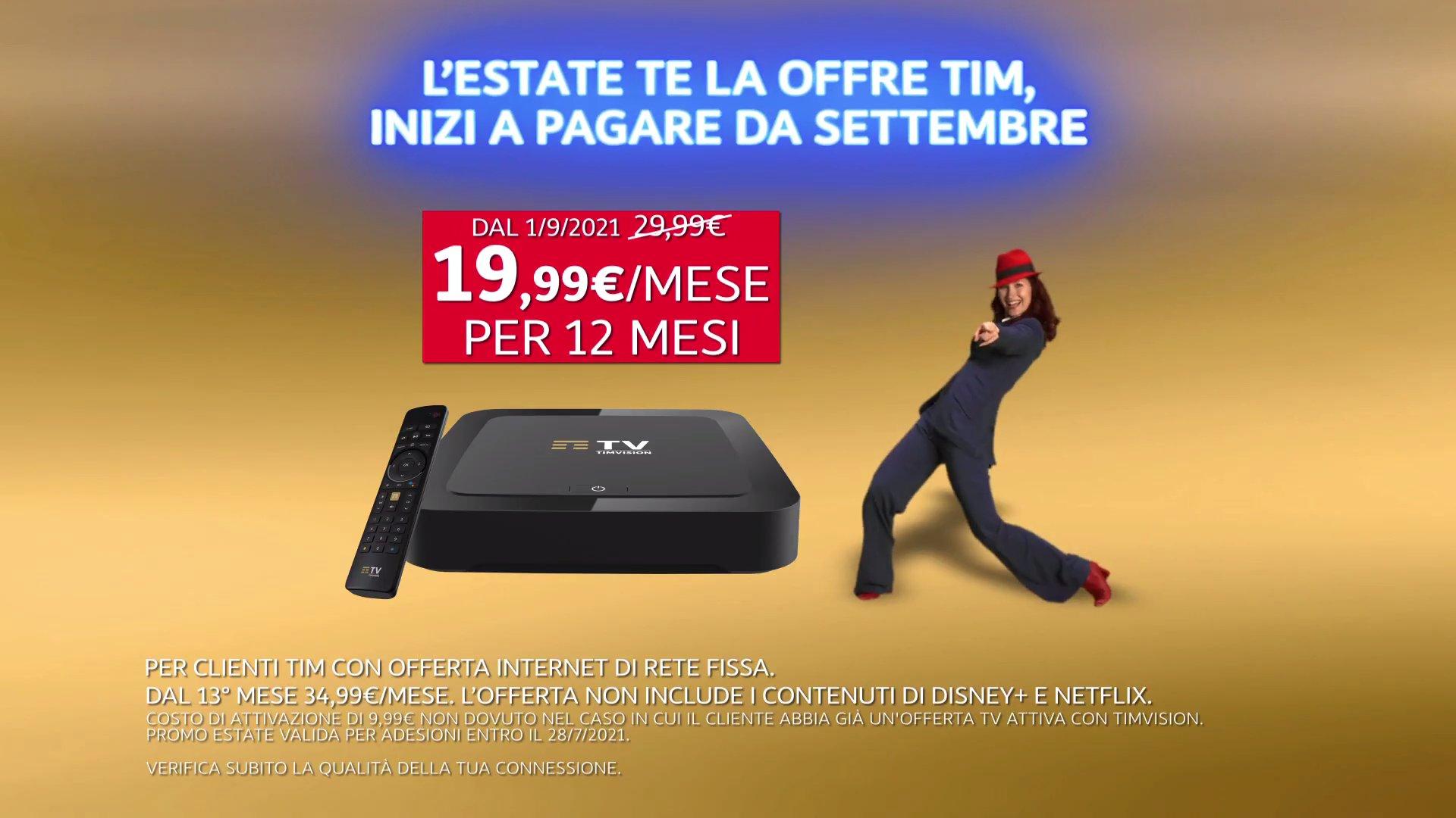 TimVision svela offerte Calcio con DAZN, Discovery+, Infinity+, Disney+, Netflix