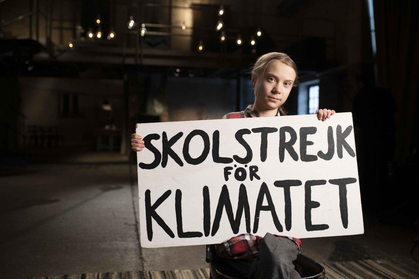 Un anno per salvare il mondo, su Sky Nature il viaggio di Greta Thunberg
