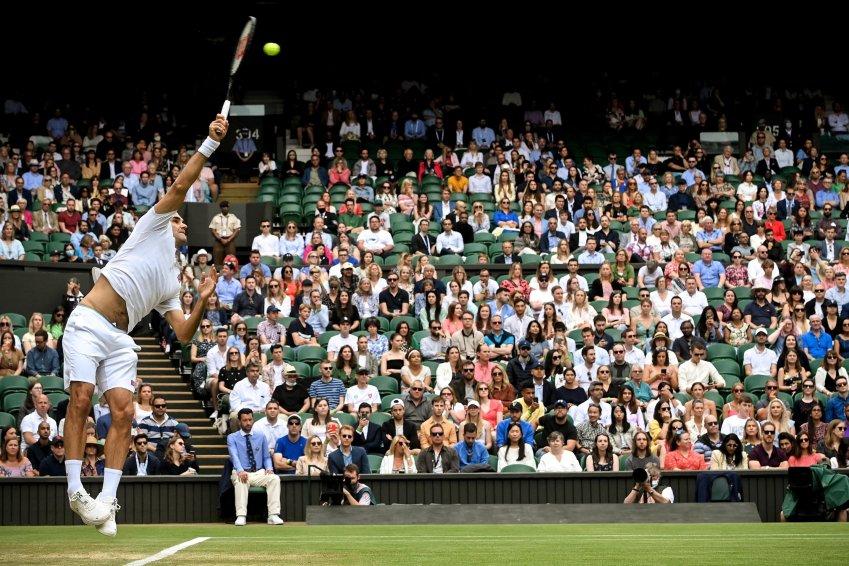 Ascolti al top per Wimbledon su Sky Sport con Sonego e Berrettini