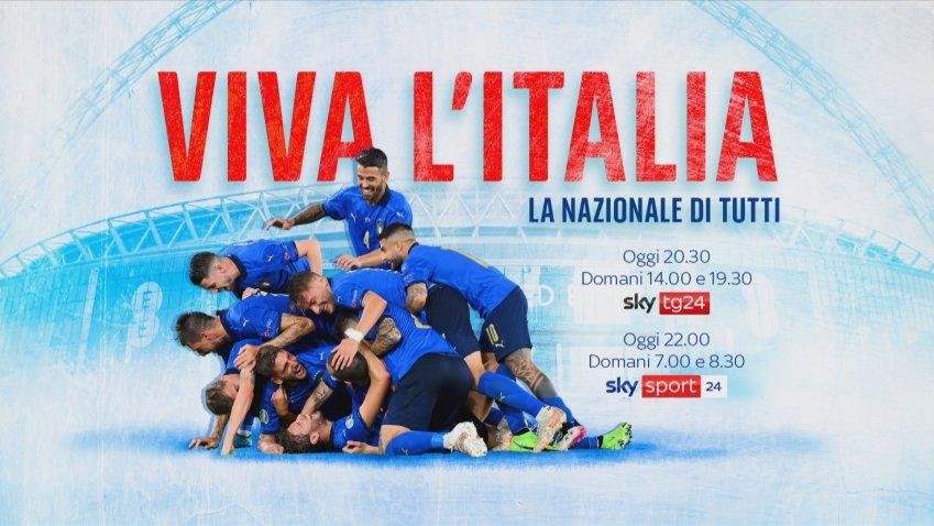 Viva l'Italia – La Nazionale di tutti, Sky racconta il ritrovato amore per gli azzurri