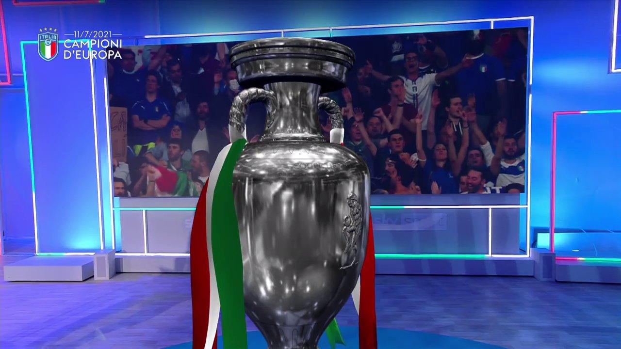 Sky, Italia Campione Euro 2020 e Wimbledon, la miglior domenica di sempre