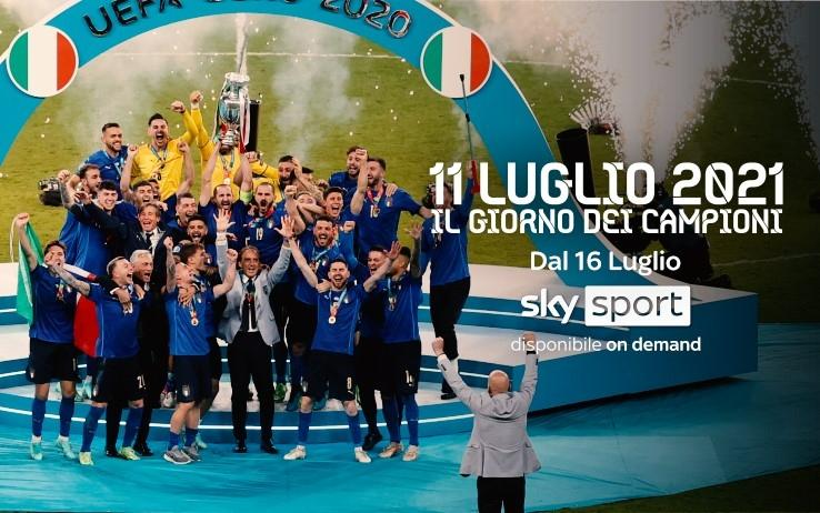 Wembley, diario azzurro, lo speciale Sky Sport sul trionfo a Euro 2020