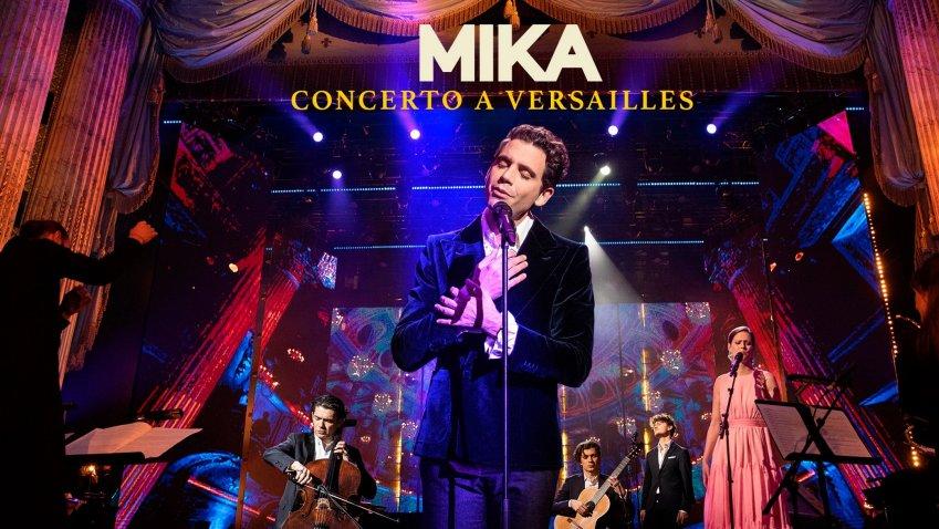 Il concerto a Versailles di Mika arriva su Sky e NOW