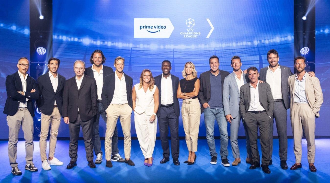 Amazon Prime Video annuncia la squadra per la UEFA Champions League