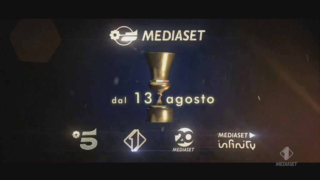 Coppa Italia 32esimi di Finale 2021/22  - Programma e Telecronisti Esclusiva Mediaset