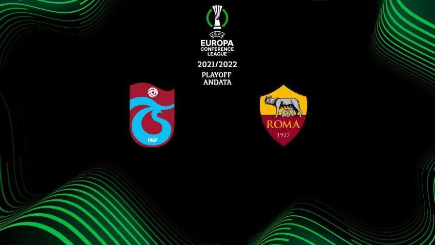 Conference League, Trabzonspor - Roma (diretta esclusiva Sky Sport e NOW)