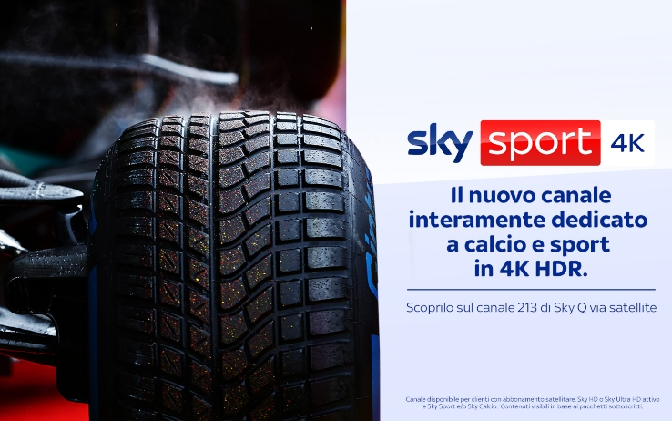 Sky Sport 4K, nuovo canale in Ultra HD dedicato al mondo del calcio e dello sport
