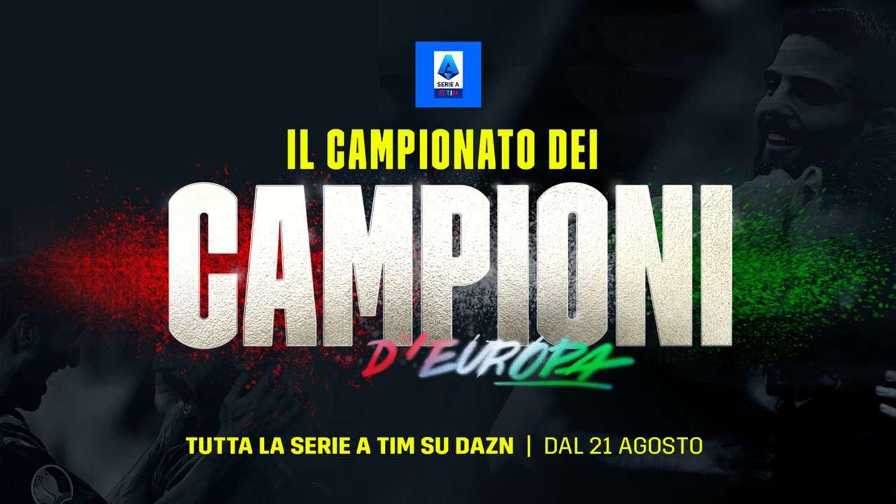 DAZN Serie A 2021/22 Diretta 1a Giornata, Palinsesto Telecronisti