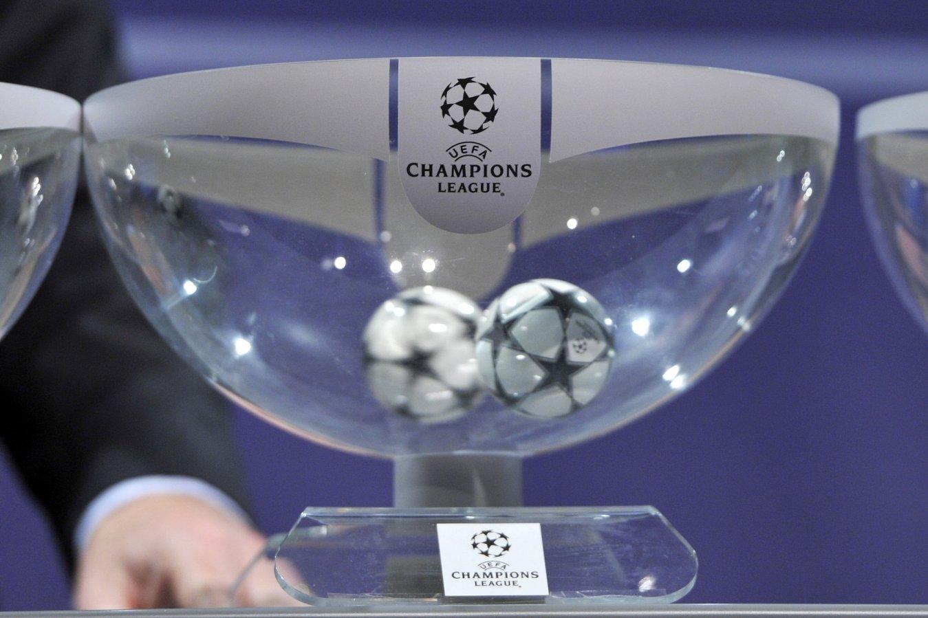 Sorteggio Champions 2021/22 - Diretta Canale 20 Mediaset, Sky Sport, Amazon Prime Video