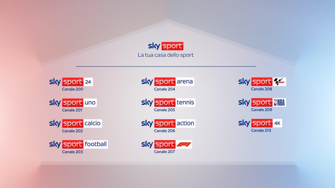 La casa dello sport, Sky presenta la sua nuova straordinaria e ricca stagione