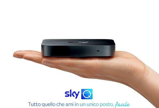 Sky Q, nasce un nuovo box piccolo e leggero da collegare a Internet