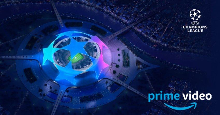 Le prime tre partite di Champions in onda su Amazon Prime Video Sport