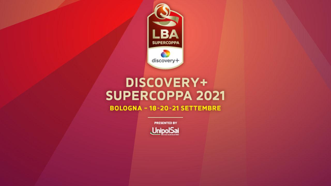 Basket Supercoppa 2021, in diretta integrale su Discovery+ (finale in chiaro su DMAX)