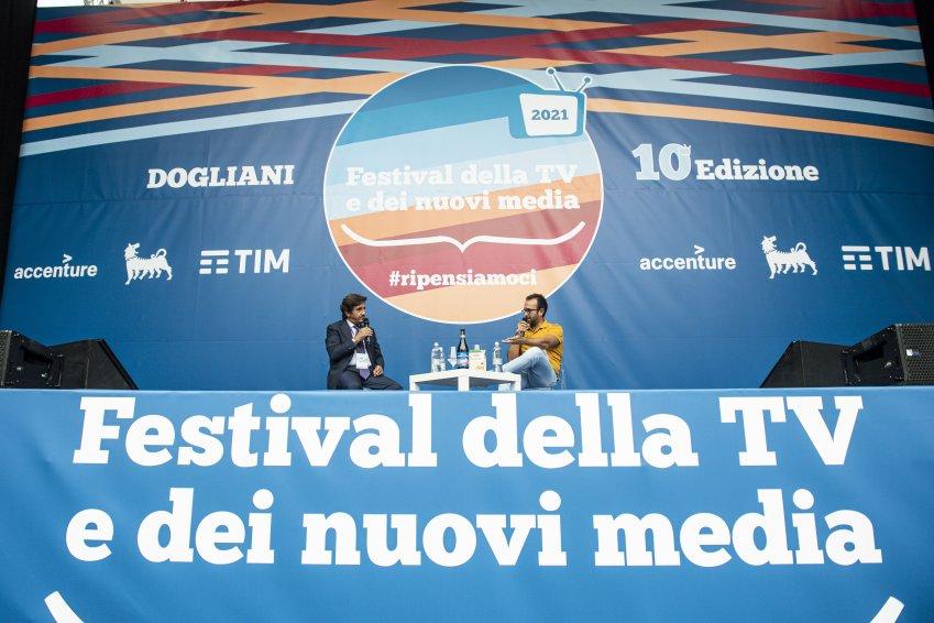 Giletti rinnova con La7, DAZN scelta economica. Cairo al Festival Tv Dogliani