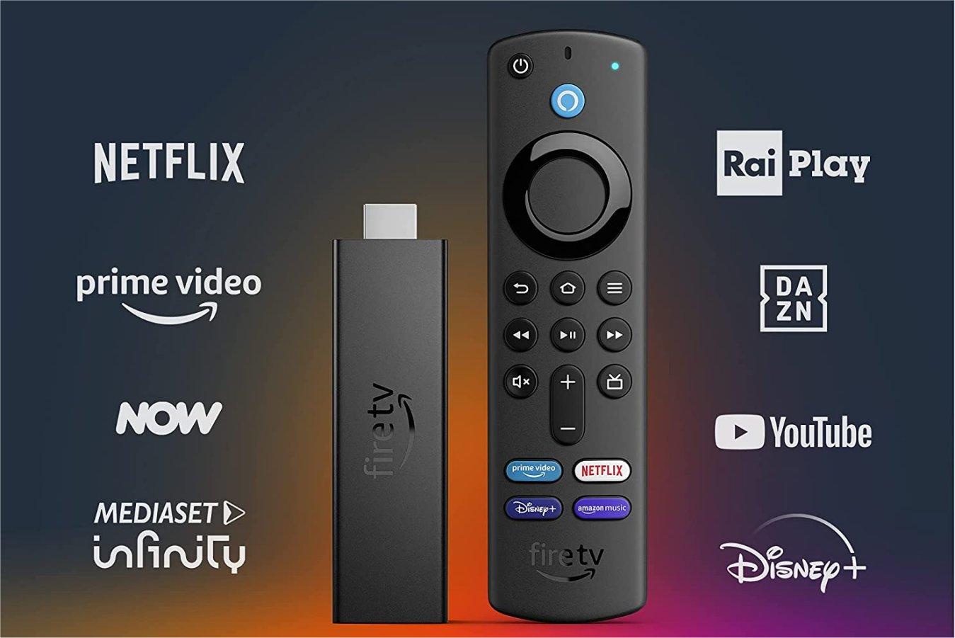 Amazon presenta Fire TV Stick 4K Max, consegne dal 7 Ottobre