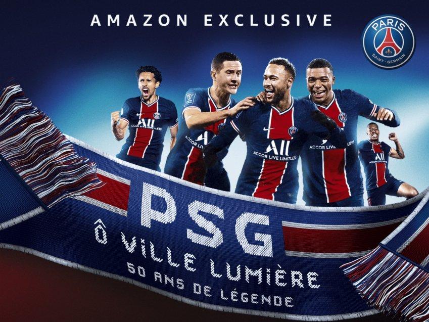 PSG, 50 anni di leggenda disponibile su Amazon Prime Video Sport