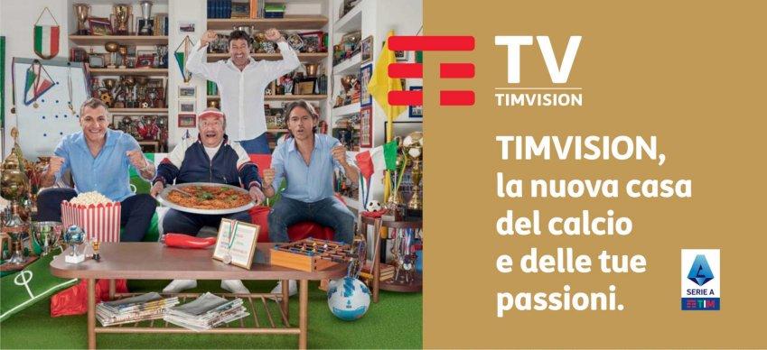 Accordo TIM - Tabaccai - LIS per attivazione SIM con TimVision Calcio e Sport