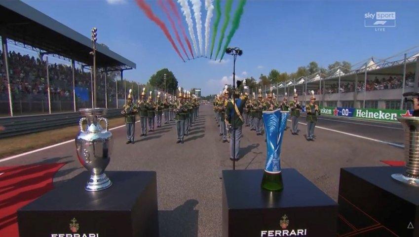 Grande giornata per la F1, oltre 3 milioni e 660 mila su Sky e TV8 per GP Italia (Monza)