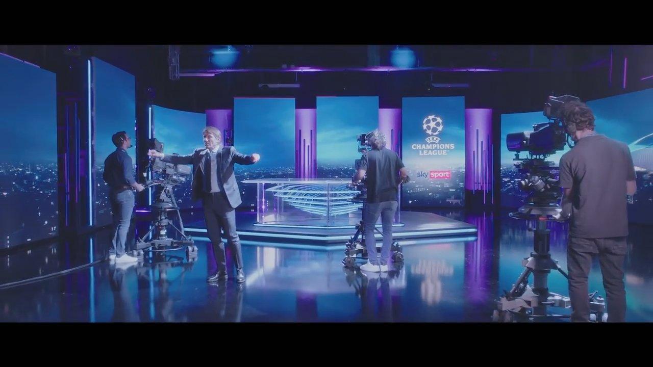 Sky Sport Champions, Diretta 1a Giornata - Palinsesto Telecronisti NOW