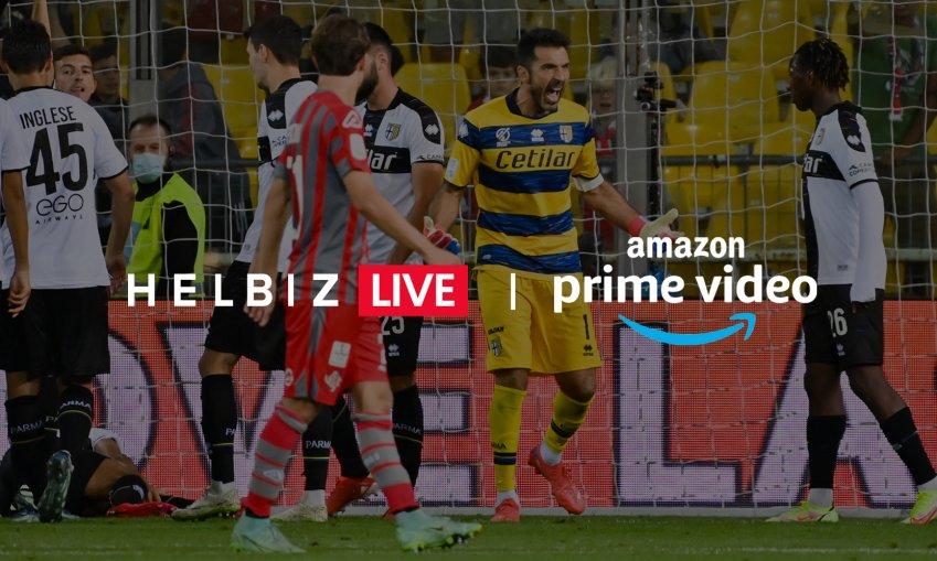 Helbiz Live (con la Serie B) entra negli Amazon Prime Video Channels