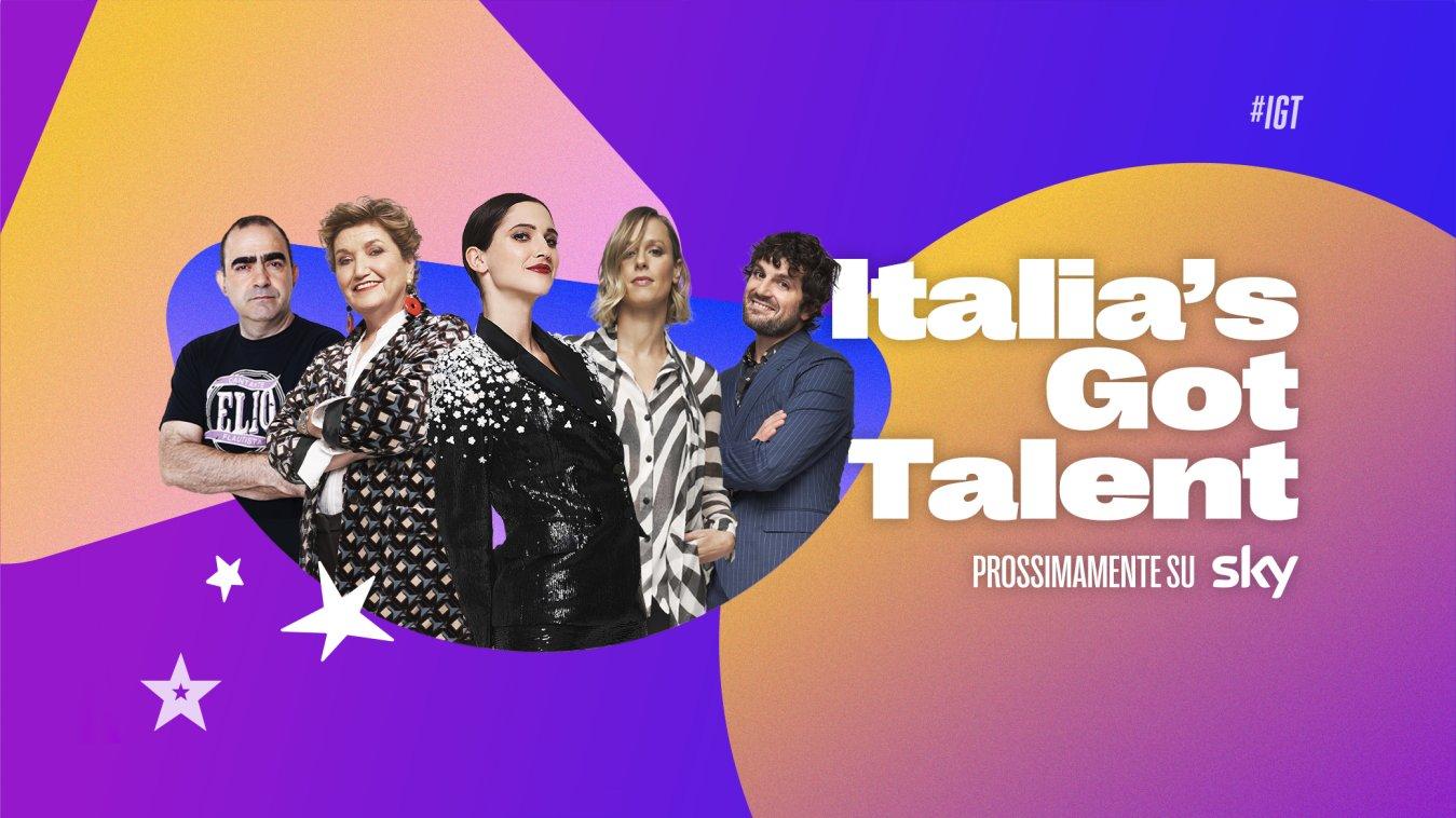 Italia's Got Talent, torna su Sky e NOW da Gennaio con Elio nuovo giudice