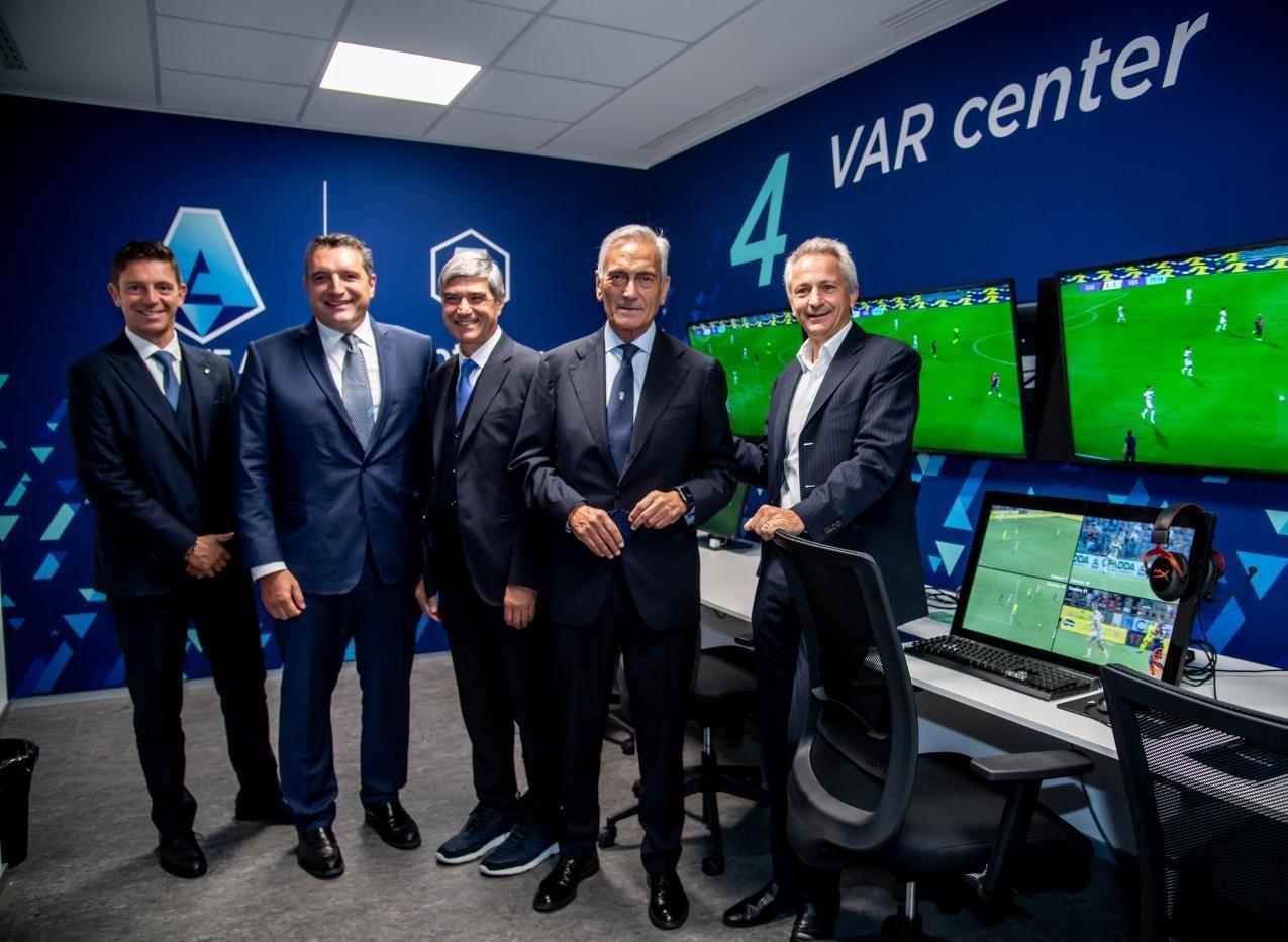 Presentato il Centro VAR presso International Broadcast Centre della Lega Serie A