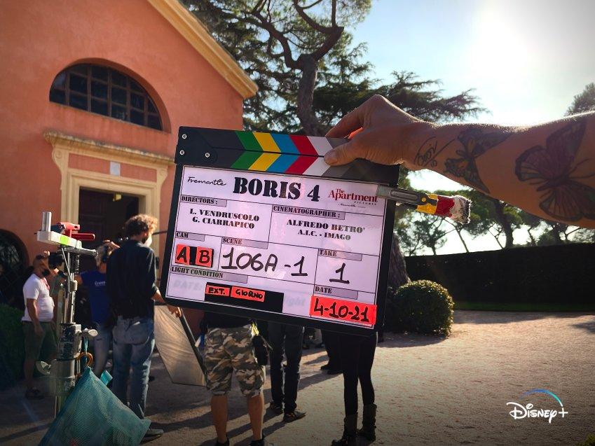 Partite le riprese della quarta stagione di Boris prossimamente su Disney+