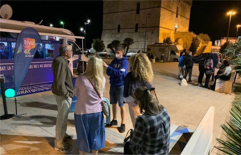 Caravan Tour Tivùsat, la maratona informativa riparte dalla Puglia e Basilicata