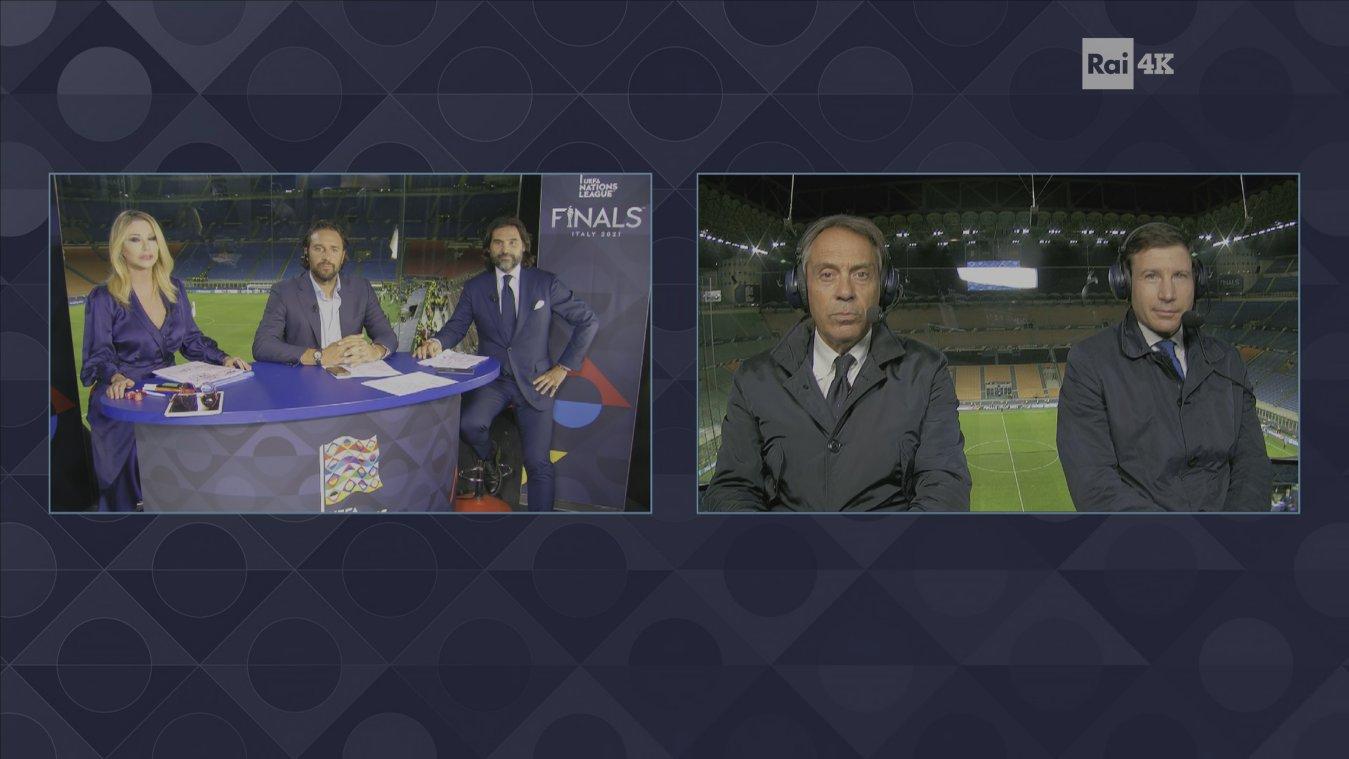Nations League Finals 2021 - ITALIA - Belgio e Spagna - Francia (diretta Rai 1)