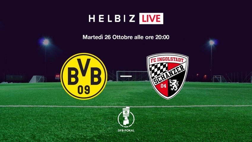 Helbiz Live porta nella piattaforma la Coppa di Germania in Italia