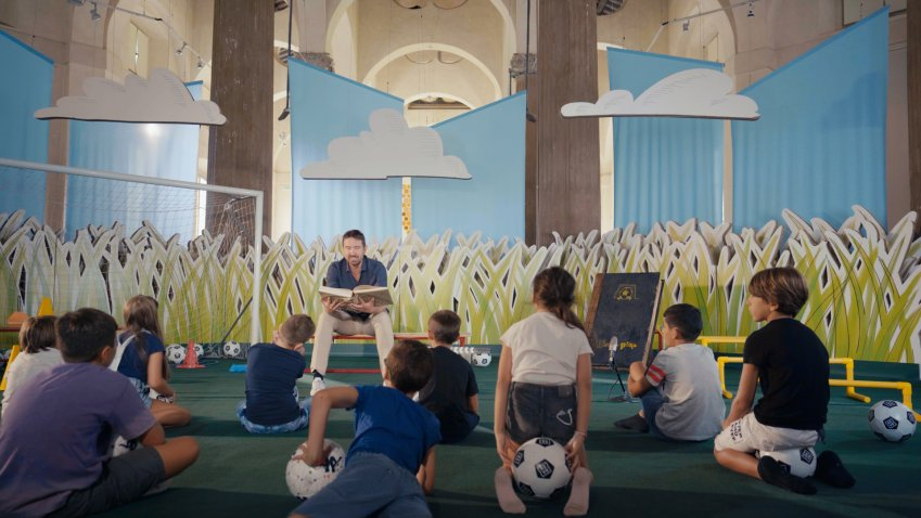 C'era una porta, su DAZN storie dei protagonisti del calcio per grandi e piccini