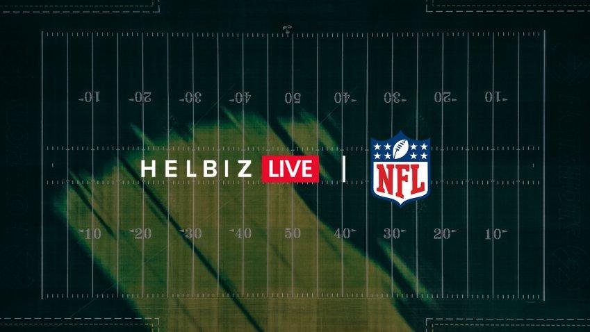 Contenuti National Football League sulla piattaforma Helbiz Live