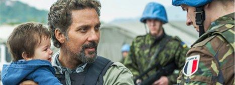 L'angelo di Sarajevo, Beppe Fiorello su Rai 1 (anche in HD) è un inviato di guerra vero