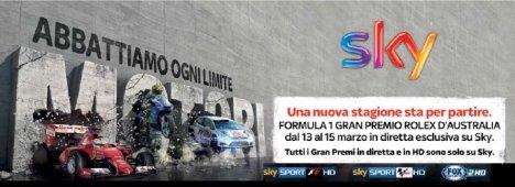 Sky Sport F1 HD Gp Australia, Formula 1 #SkyMotori