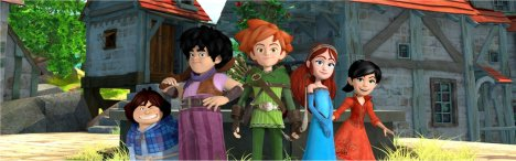 Robin Hood alla Conquista di Sherwood in anteprima su DeAKids e SKY 3D