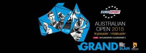Australian Open 2015, diretta canali Eurosport (Sky Sport e Mediaset Premium)