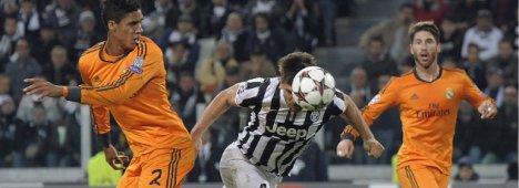 Champions, Juventus - Real Madrid,  Diretta Canale 5 HD e Sky Sport 1 HD
