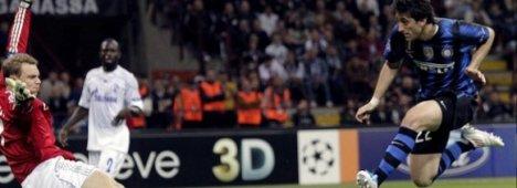Champions League in tv: Schalke 04-Inter (Rai 1, SKY Sport, Mediaset Premium)