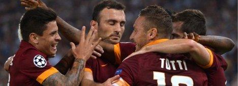 Champions League, Cska Mosca - Roma (diretta esclusiva su Sky Sport HD)