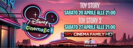 Per la prima volta arrivano su Sky 3D i film in 3D di Disney Cinemagic