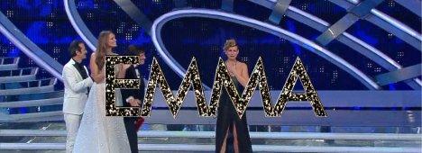Emma Marrone vince Sanremo 2012.  Arisa arriva seconda, poi Noemi