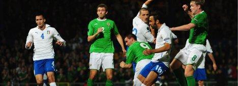Qualificazioni Europei 2012: Italia - Irlanda del Nord (diretta tv ore 20.45 Rai 1)