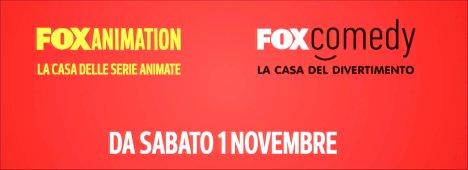 Novità SKY - Da oggi al via Fox Animation e Fox Comedy in esclusiva su Sky