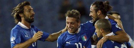 Calcio, Qualificazioni Mondiali 2014 - Italia vs Bulgaria (diretta Rai 1 e Rai HD)
